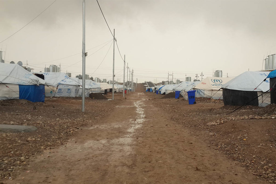 Life in a refugee camp