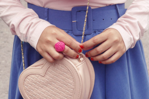 Style Spied: Glitters, Bows and Everything Nice