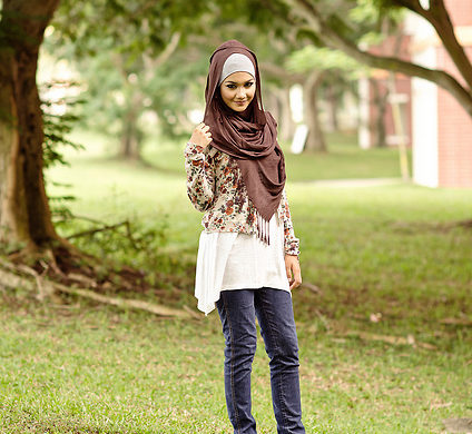 Style Spied: Nur Hanis from Singapore