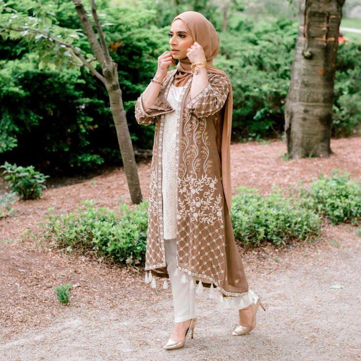 Style Spied: Saman Munir from Canada