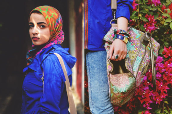 Style spied: Sahar Foad from Egypt