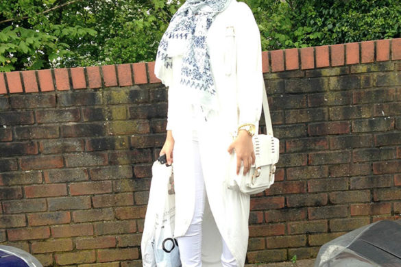 Style spied: Sebina Hussain, an aspiring lawyer from the UK